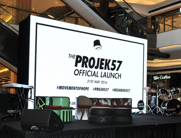 Projek57 Official Launch