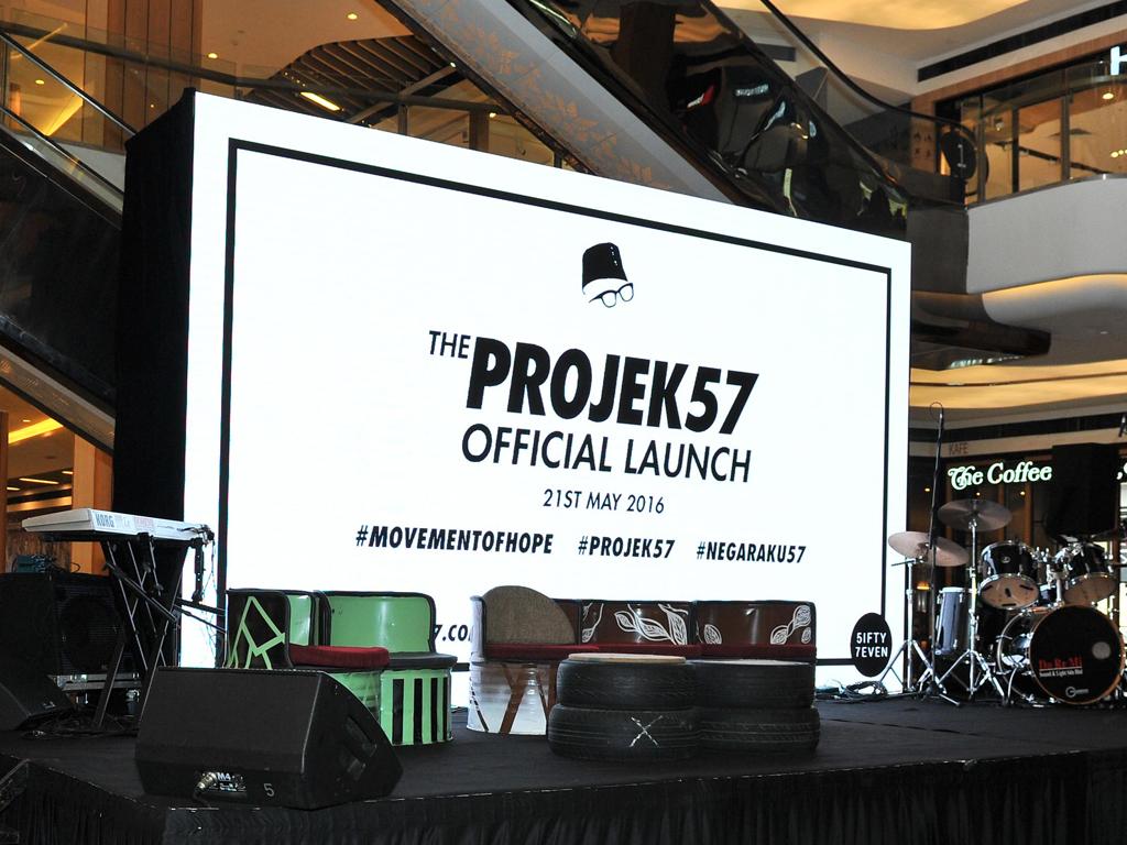 Projek57 Official Launch