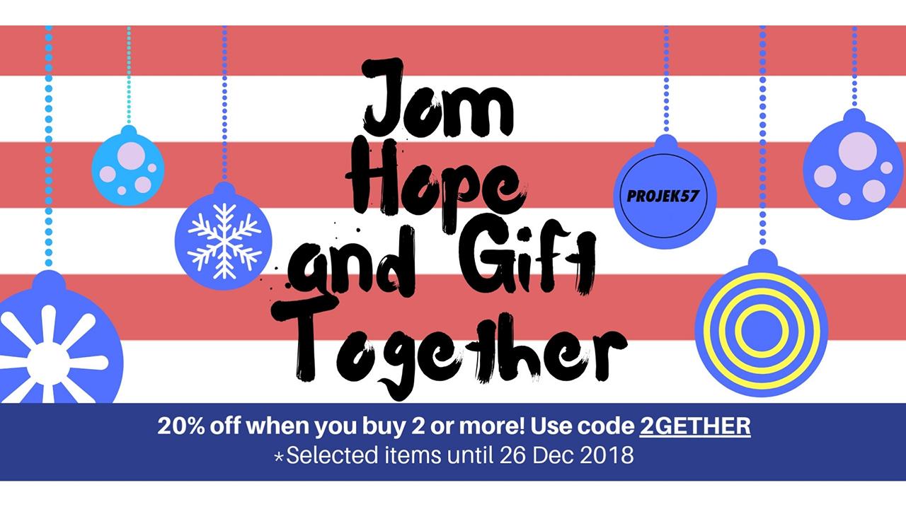 Jom Hope & Gift together